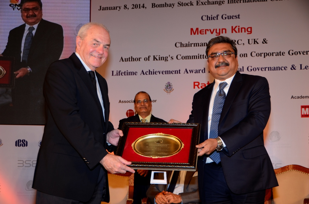HCL Technologies receives Best Governed Company Award
